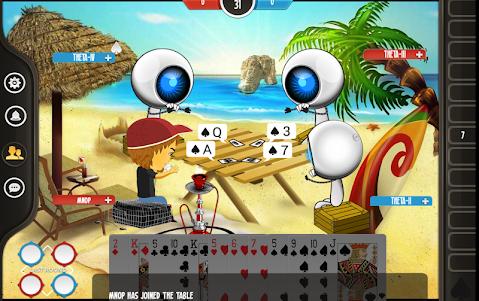 Tarneeb Online 2.4 screenshot 2