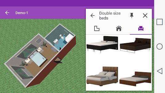 Bedroom Design 1.7.0 screenshot 3