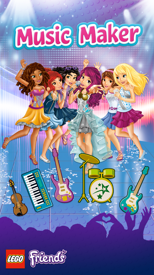 LEGO® Friends Music Maker 1.1.0 APK Download - Android Entertainment ...