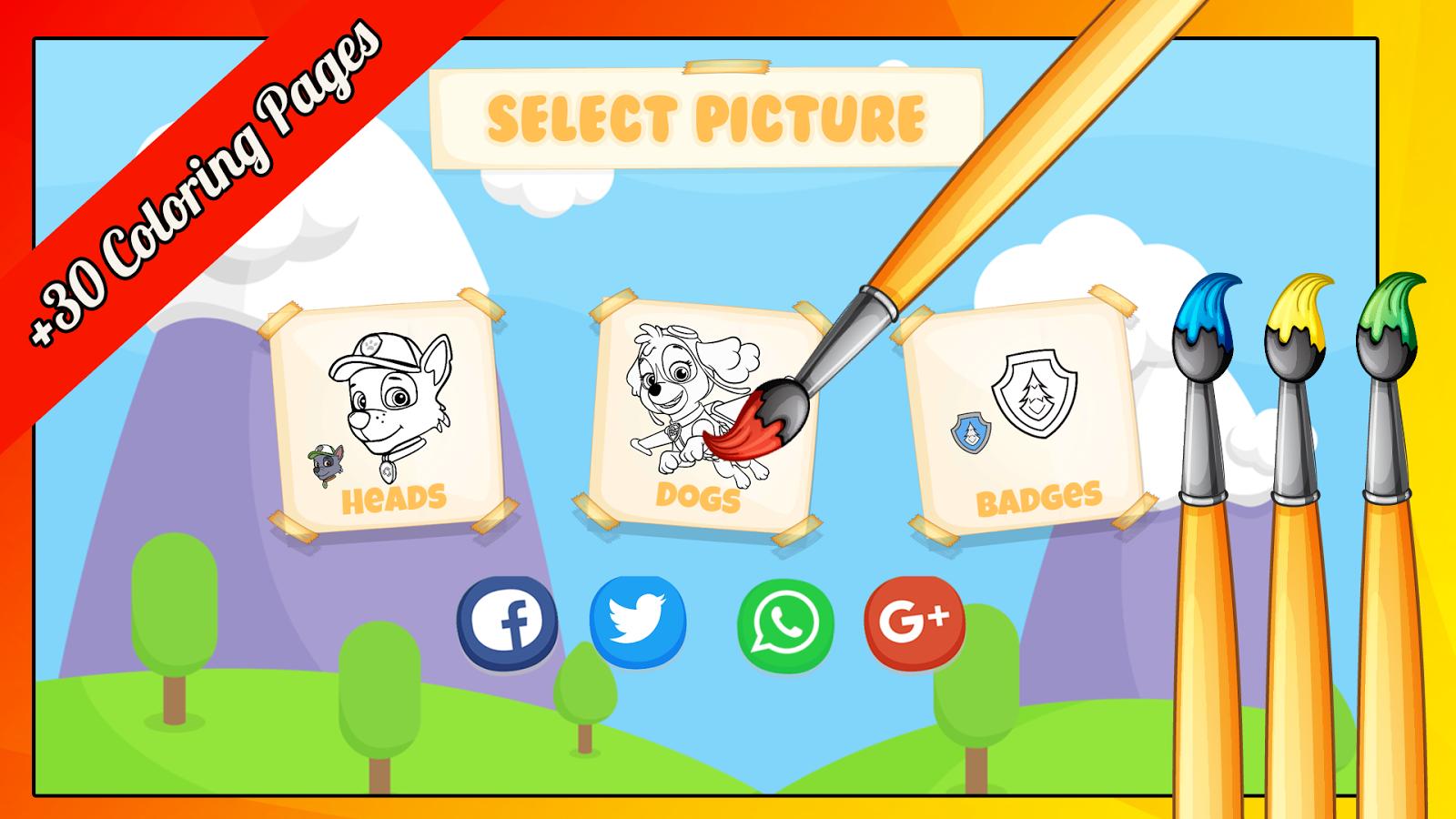 Patrulla Canina para Colorear 1.0 APK Download - Android Puzzle Games