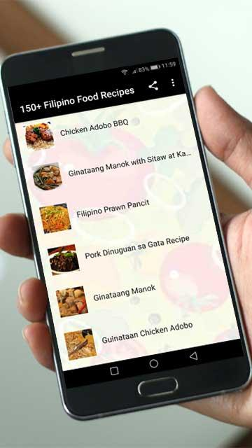150 filipino food recipes 23 apk download android cats 150 filipino food recipes 23 screenshot 2 forumfinder Gallery