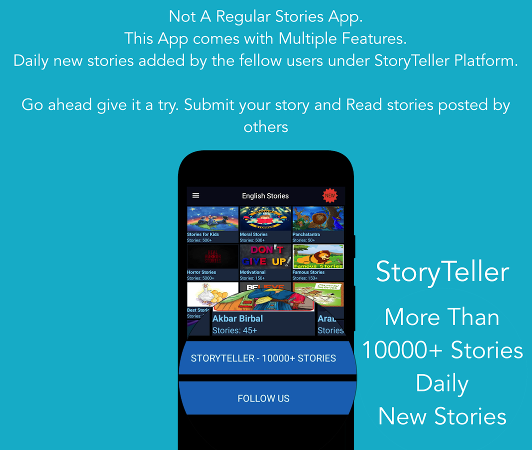 English Stories Offline 10000 + & StoryTeller 10 05 APK