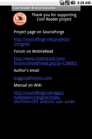 Cool Reader Bronze Donation 1 1 APK Download - Android Tools