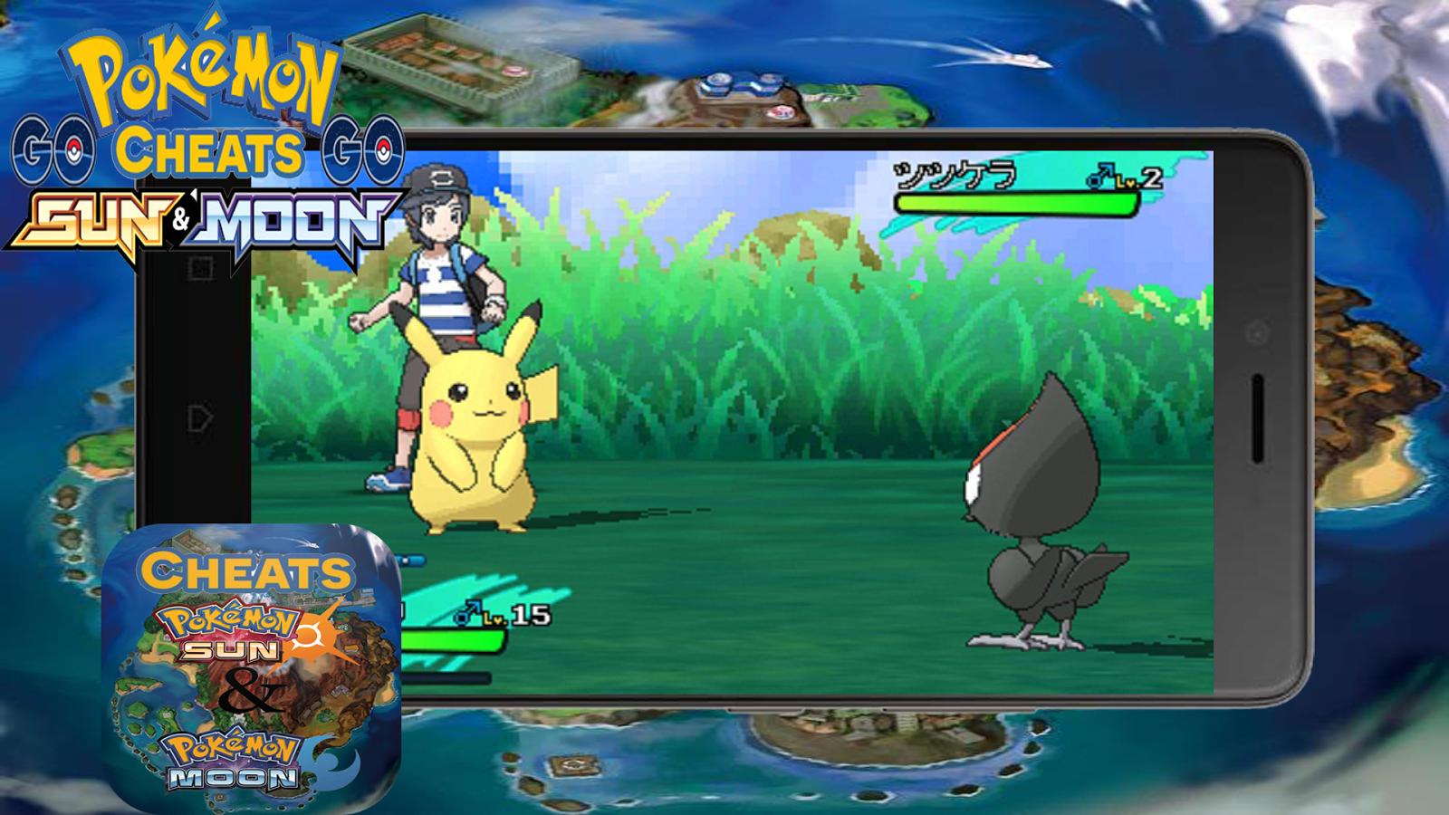 pokemon sun and moon apk mod