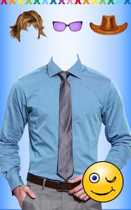 Men Shirt With Tie Photo Suit Maker 1.0.9 screenshot 17