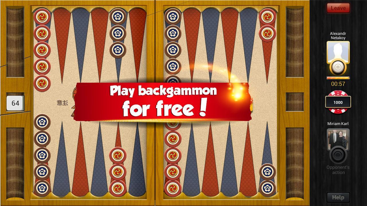backgammon free spielen