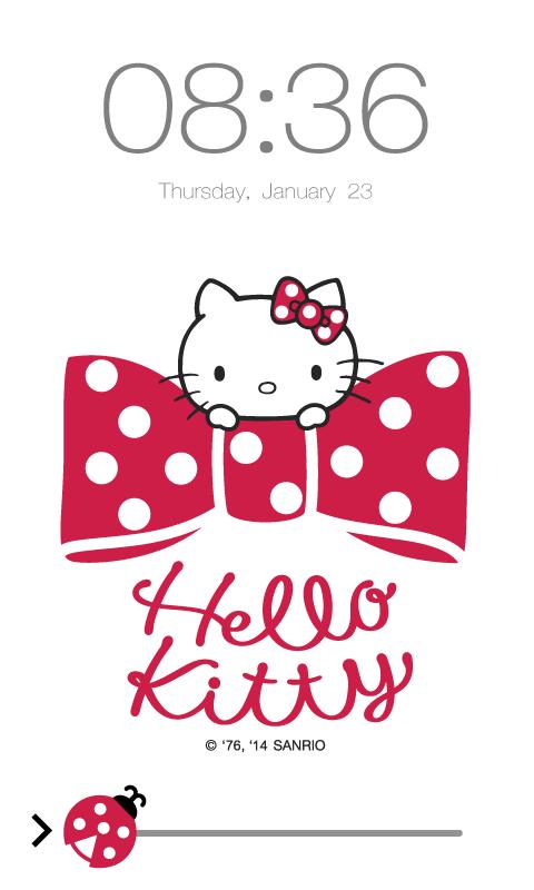 Hello Kitty Screen Lock 13 Screenshot 1