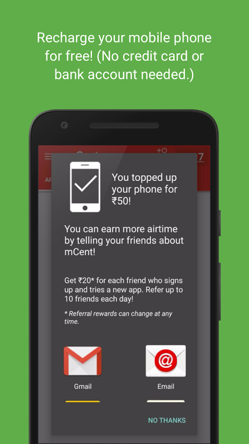 mCent - Free Mobile Recharge 2 0 APK Download - Android