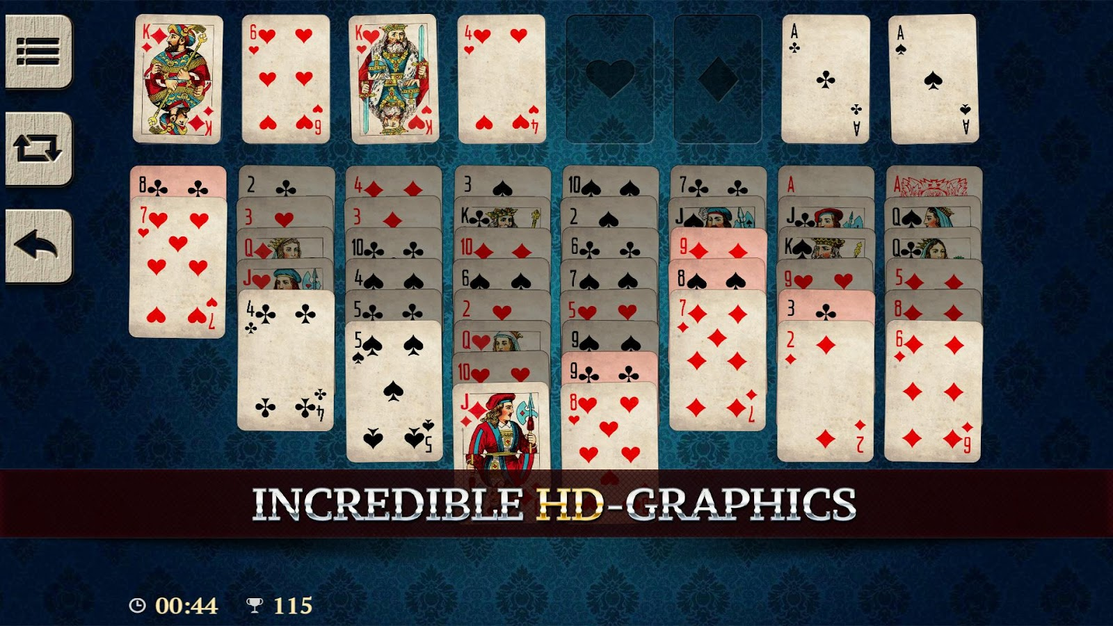 elite freecell solitaire 121 apk download android card