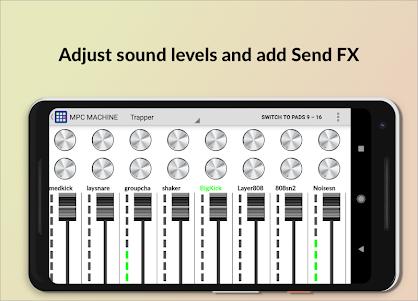 MPC MACHINE - Sampling Drum Machine Beat Maker 1.36 screenshot 3