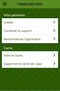 Futebol 2015-16 App português 1.0 screenshot 3