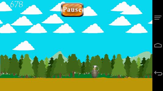 Cute Commando in The Forest 1.0 screenshot 4