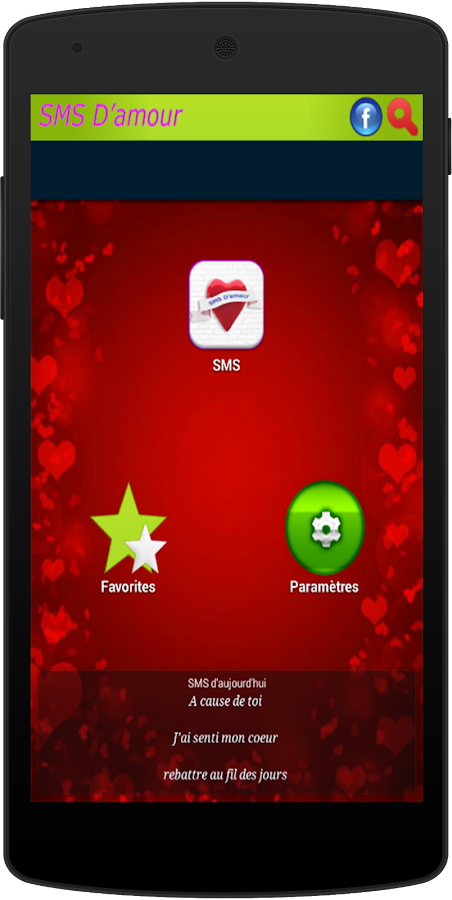 Sms Et Phrases Damour 2016 10 Apk Download Android