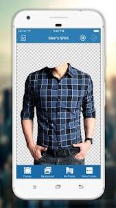 Man Shirt Photo Editor 3.0.9 screenshot 1