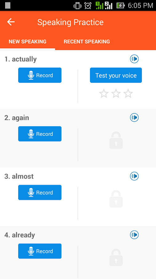 Learn english audio and video apk