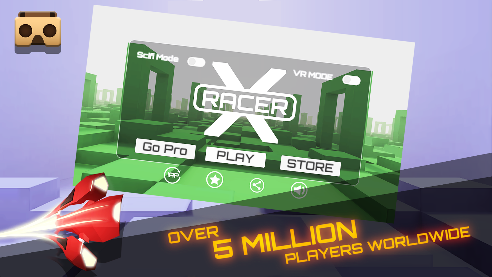 Vr X Racer Aero Racing Games 62 Apk Download Android Circuit Racer2 3d Speed Apps On Google Play Screenshot 1
