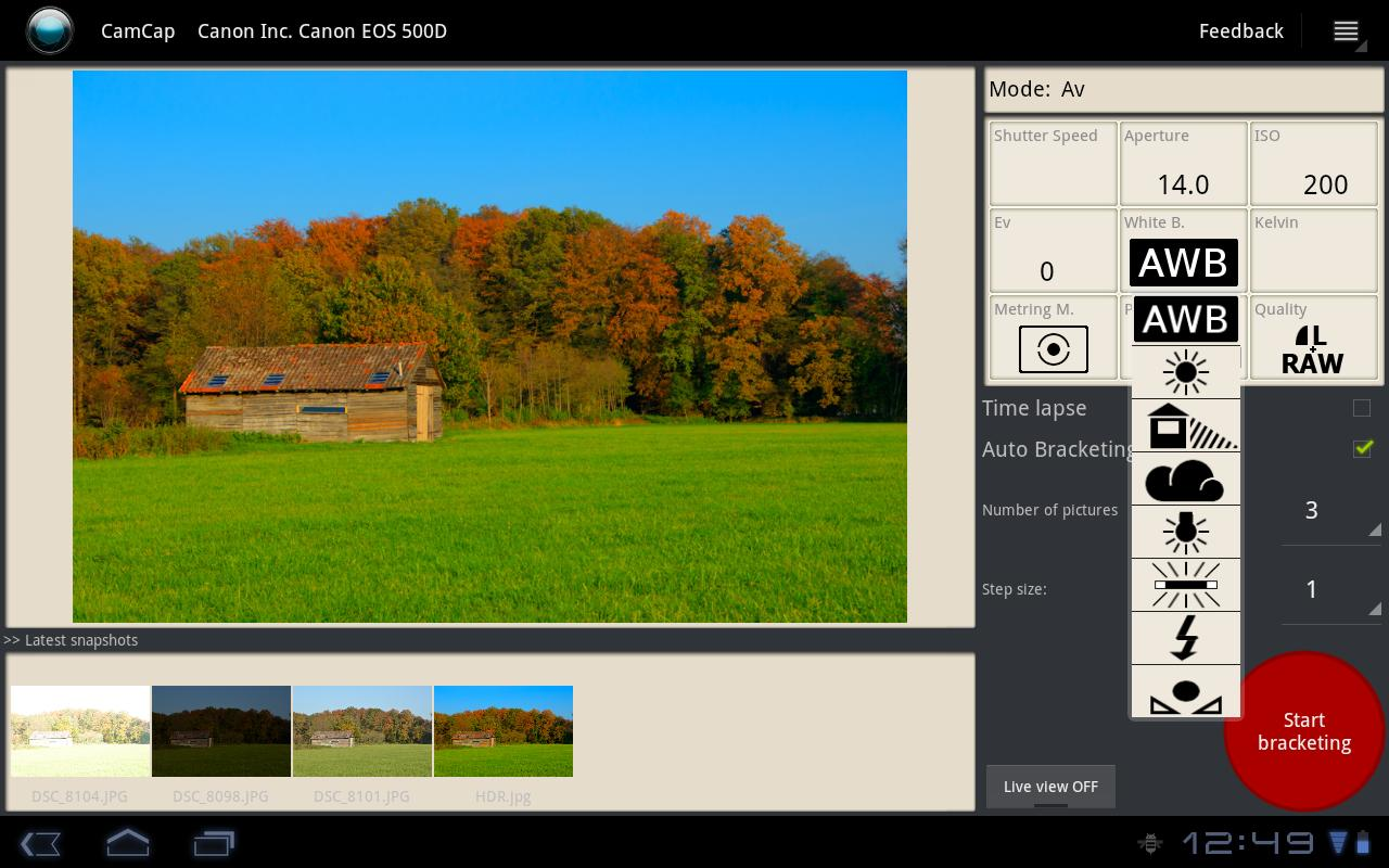 CamCap - DSLR Controller 0 9 1 APK Download - Android