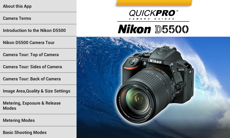 Nikon D5500 from QuickPro 2 0 0 APK Download - Android