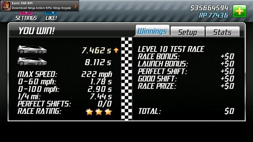 Drag racing pro setups apk