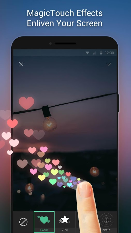 Apex Wallpaper - WhatsApp Wallpapers&Touch Effect 1.5.3 screenshot 1 ...