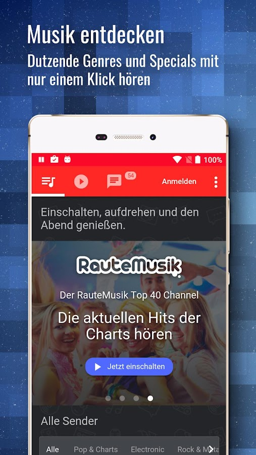 RauteMusik FM Internet Radio APK Download - Android Music & Audio Apps