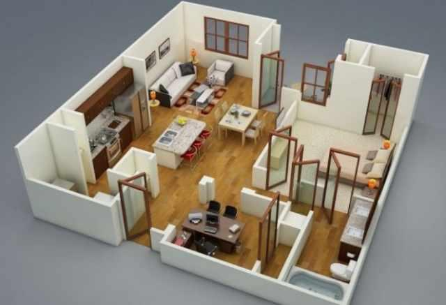 3D Home Plan Design Ideas 1.0 APK Download - Android Lifestyle Apps