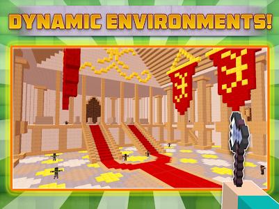 Cube Gun Survival Games C10.1 screenshot 4