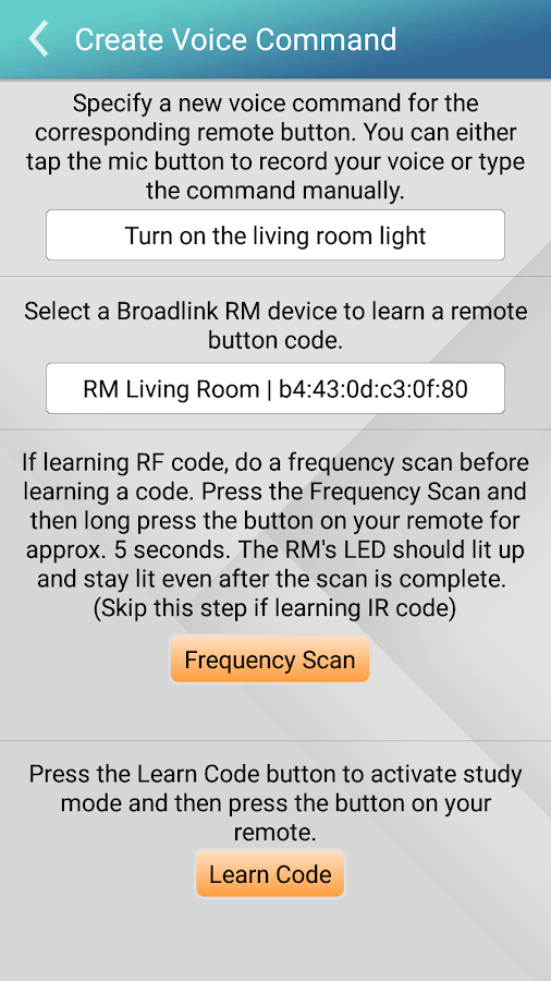 Broadlink RM Voice Pro 2 0 APK Download - Android Lifestyle Apps