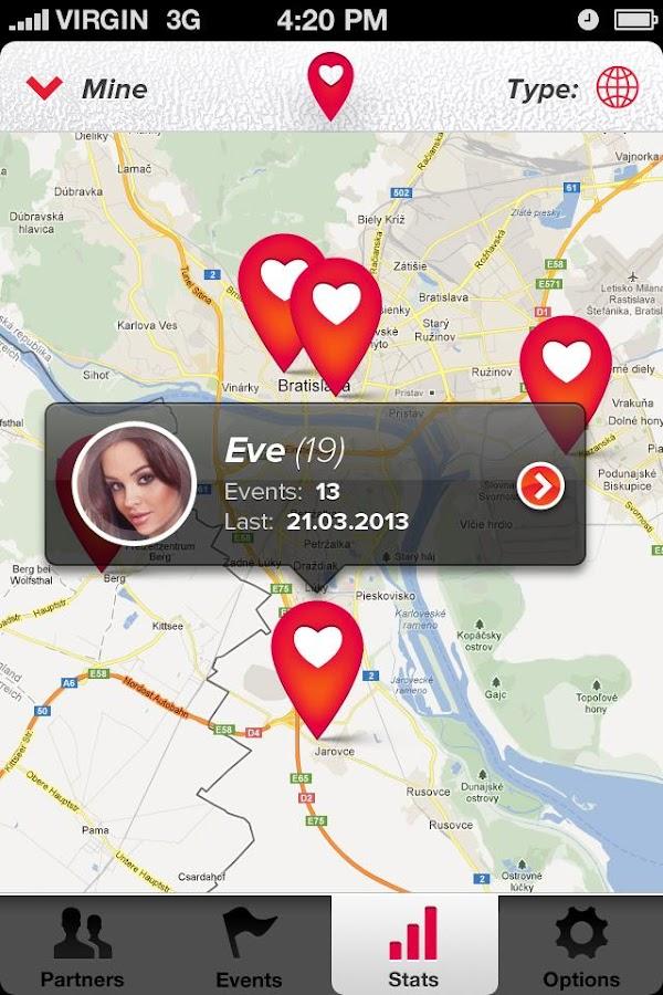 Sex partner apps