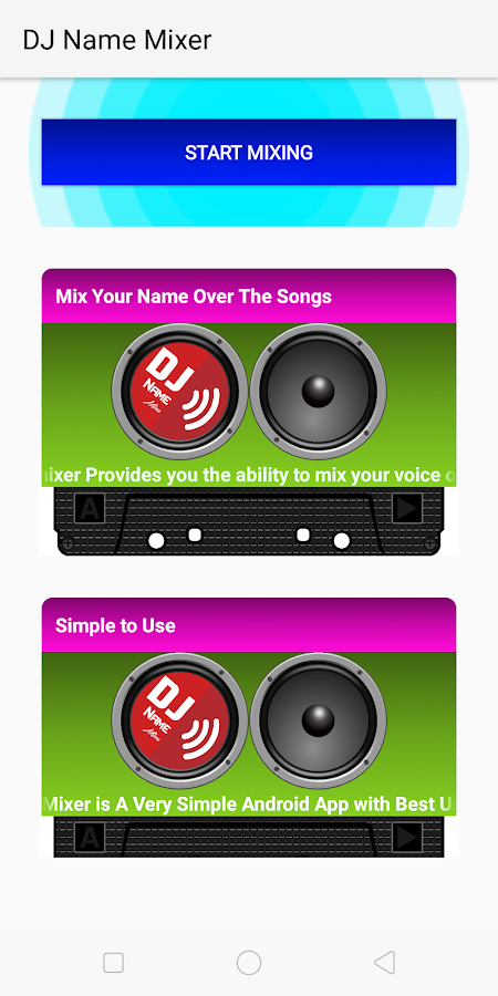 DJ Name Mixer 25 0 APK Download - Android Music & Audio Apps