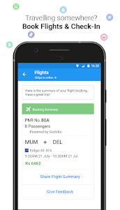 Haptik Assistant - Reminders, Flights, Cabs 6.14.0 screenshot 4
