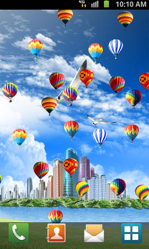 Hot Air Balloon Live Wallpaper 17 Apk Download Android