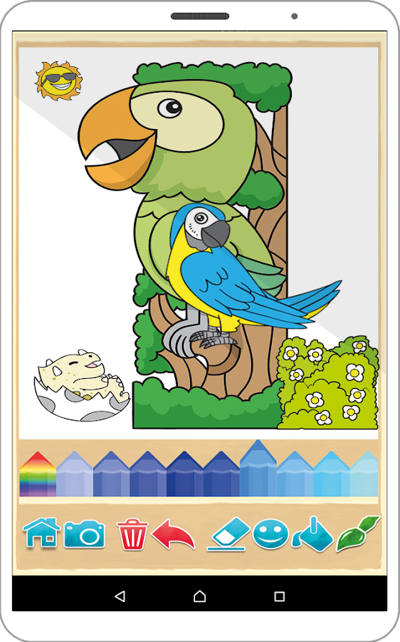Painting And Drawing Free Coloring Book Game Screenshot 3