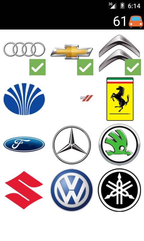 Cars Logo Quiz 1 0 Apk Download Android Trivia Games