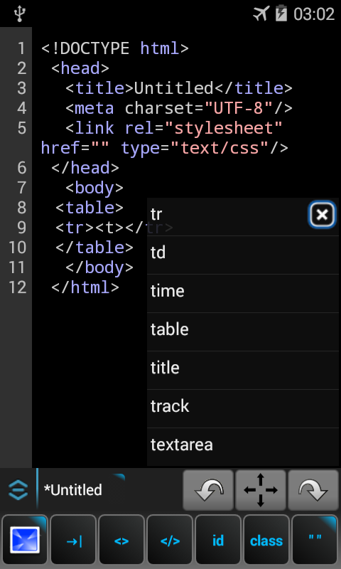 WebMaster's HTML Editor 1 7 2 APK Download - Android Tools Apps