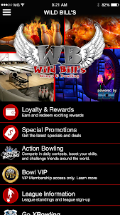 Wild Bills Wings & Bowling 1.1.1 screenshot 1