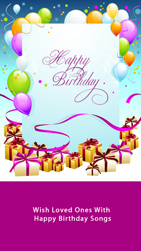 Happy Birthday Song By Name 5 1 APK Download - Android Entertainment