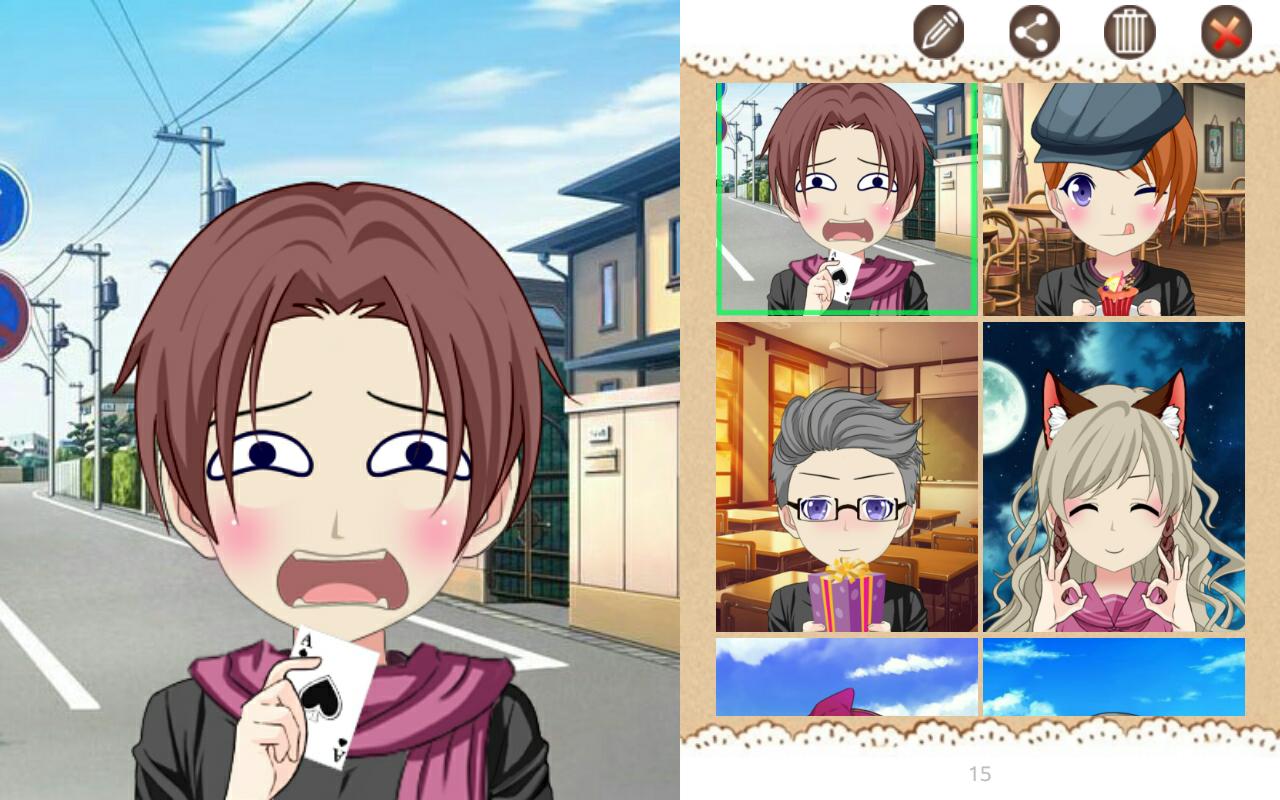Anime avatar studio 1 0 2 screenshot 1