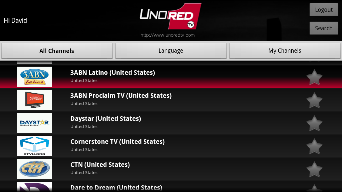 UnoRed TV for GoogleTV 1 0 APK Download - Android Media & Video Apps