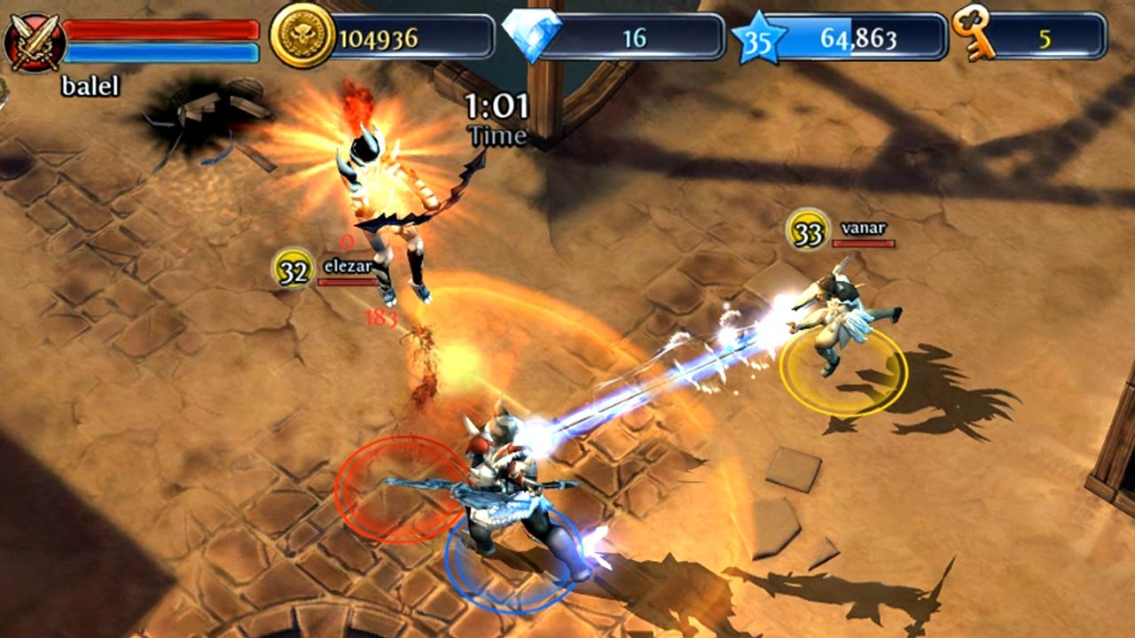 dungeon hunter 4 hack apk android