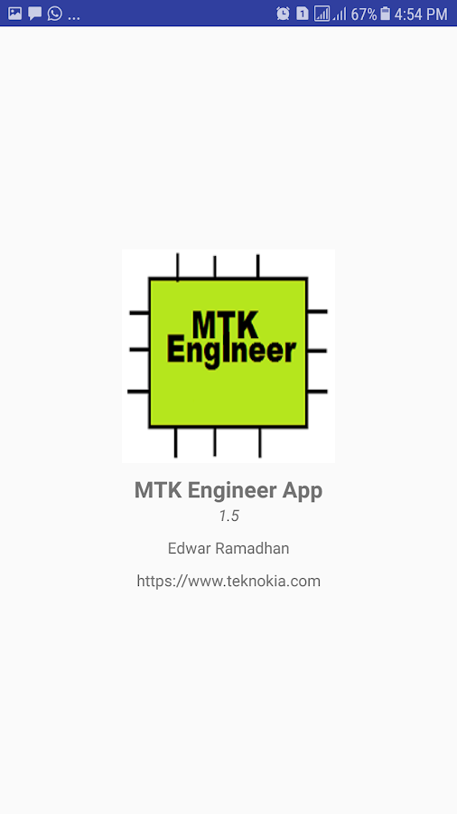 MTK Engineer App APK Download - Android Tools Apps