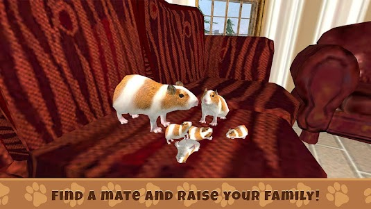 Guinea Pig Simulator: House Pet Survival 1.2.0 screenshot 3