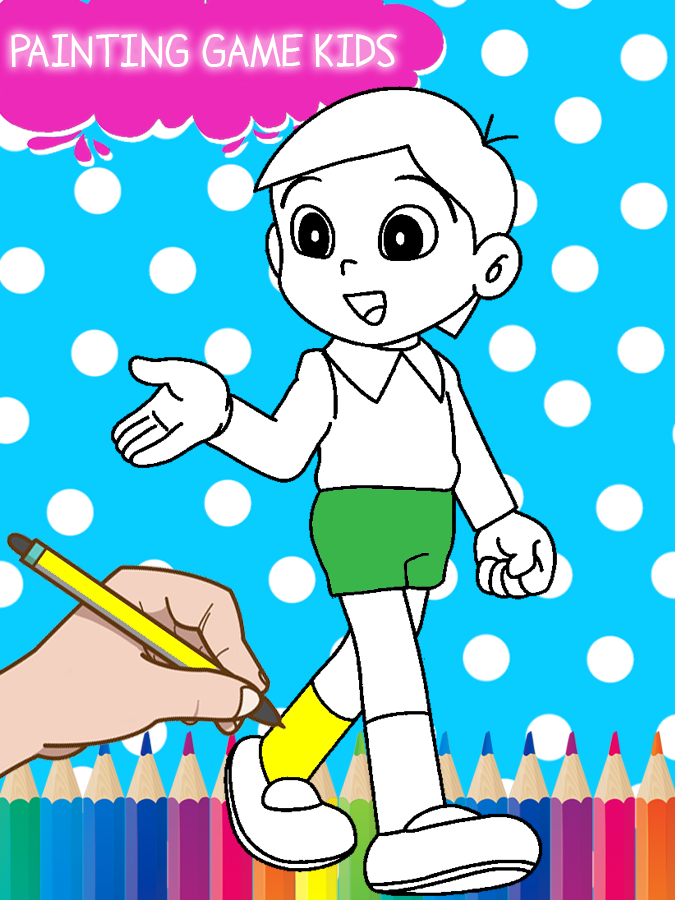 Nobita Super Heroes Coloring 501 Apk Download Android