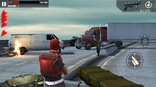 Zombie Landing 1.0.4 screenshot 1