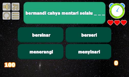 7 Bidadari - Naif Lyric Game 1 screenshot 1