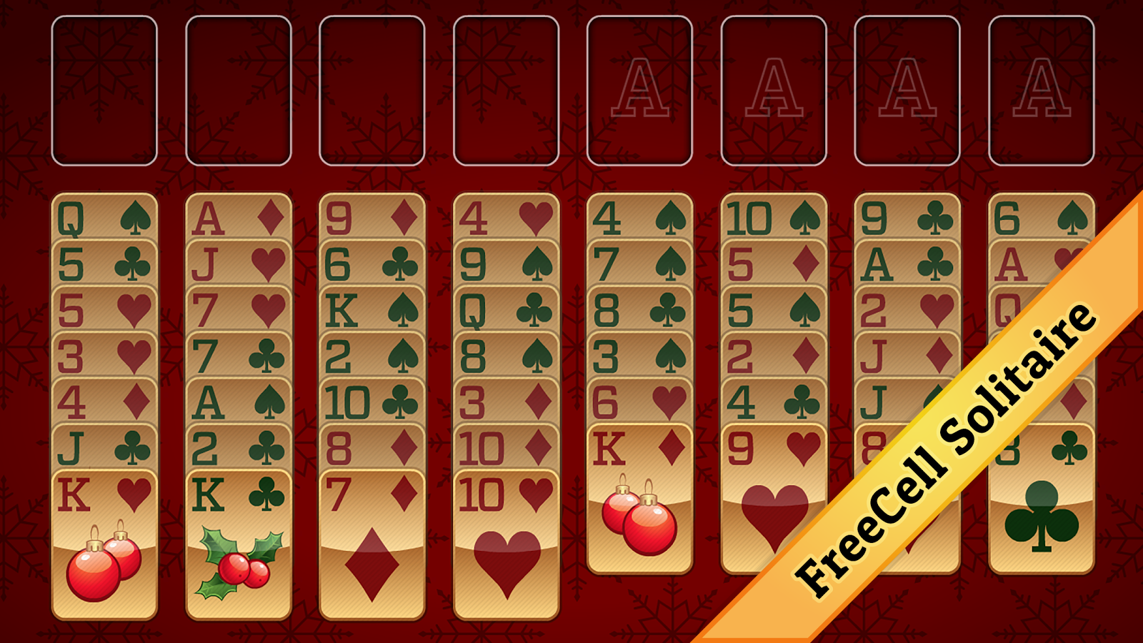 Christmas Solitaire Freecell.Christmas Solitaire 2 0 1 Apk Download Android Card Games