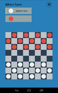Checkers Touch 1.0 screenshot 1