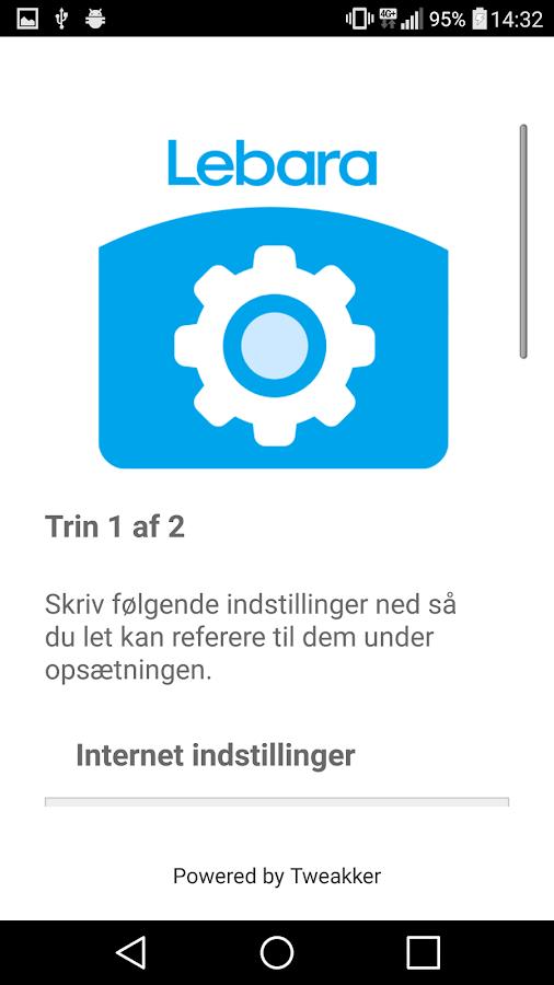 Lebara APN Denmark 1 1 APK Download - Android Tools Apps