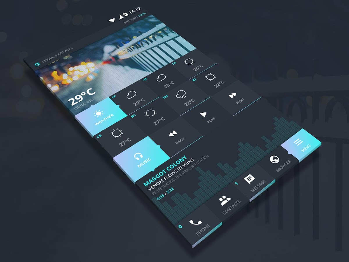 Winter Zooper Widget Skin 1 0 APK Download - Android Personalization