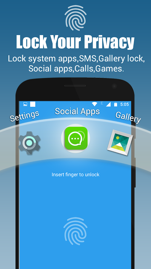 App lock - Real Fingerprint, Pattern & Password 35 0 APK